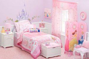 کوراسیون اتاق خواب دخترانه ( قسمت اول ) رنگ اتاق دخترانه