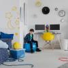 دکوراسیون اتاق خواب پسرانه (قسمت اول) رنگ اتاق پسرانه